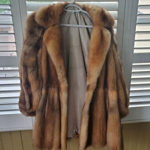 Vintage real Fox fur coat L or XL?